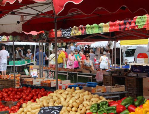 Les marchés de Châtel-Guyon