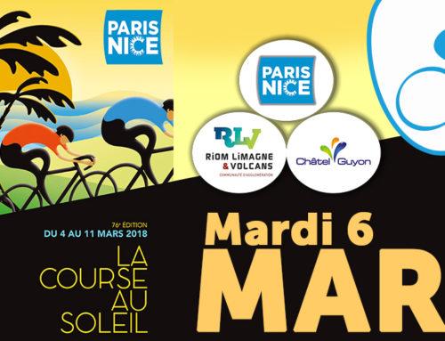 Paris-Nice le 6 mars 2018 : Infos circulation et stationnement