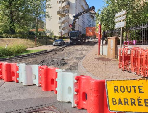 Travaux : la rue d'Angleterre en chantier jusqu'à début 2019