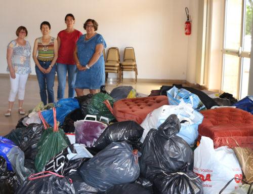 Collecte de vêtements solidaire le samedi 24 novembre à la Mouniaude