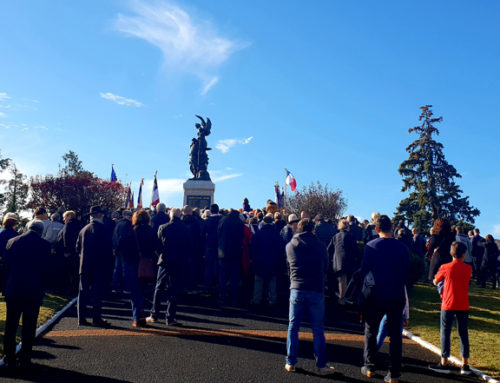 Retour en images et histoire du Centenaire de l'Armistice à Châtel-Guyon