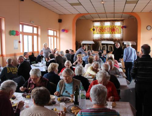 Un repas solidaire au profit du Téléthon organisé le 24 novembre
