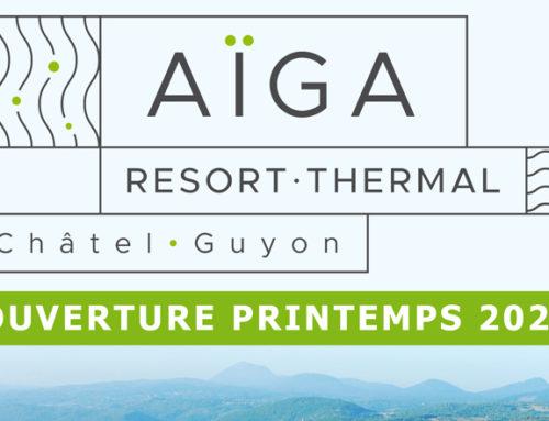 Le nom du futur établissement thermal dévoilé :  «Aïga Resort-Thermal Châtel-Guyon»