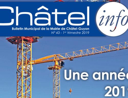 Le Châtel-Info de janvier 2019 est arrivé !