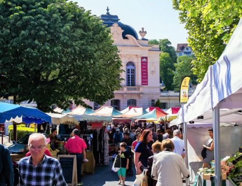 Châtel-Guyon participe à la fête internationale des marchés le 26 mai