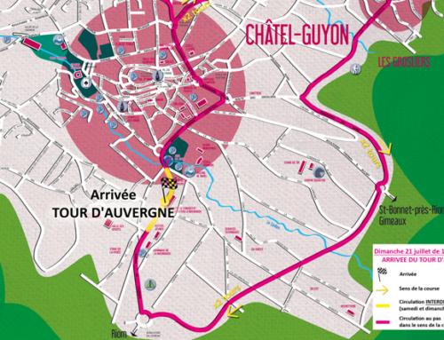 Tour d'Auvergne les 20 et 21/07 : circulation et stationnement