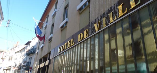 Hotel de ville chatel-guyon
