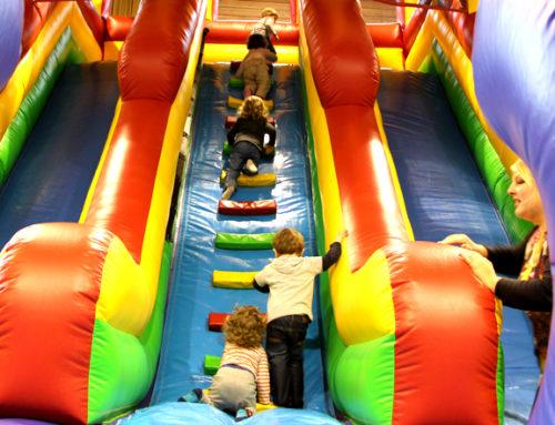 Jeux gonflables, soirées rebondissantes : le parc intérieur R'Concept est de retour !