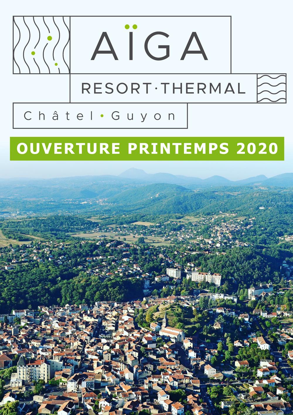 """Le nom du futur établissement thermal dévoilé : """"Aïga Resort-Thermal  Châtel-Guyon"""" - Ville de Châtel-Guyon"""