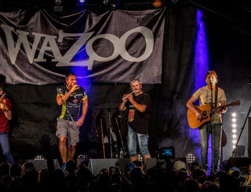 Concert de Wazoo : un vendredi enflammé au cœur de la cité thermale !