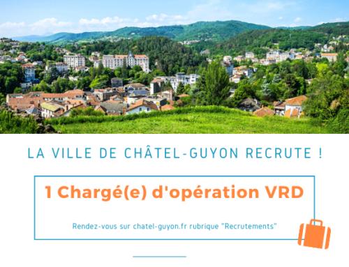 La Ville de Châtel-Guyon recrute !