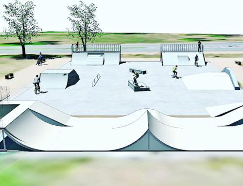 Les travaux d'agrandissement du skate park sont lancés !