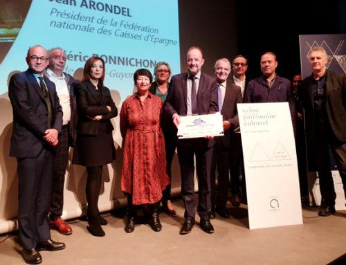Rubans du Patrimoine 2019 : la ville remporte le prix «Dynamisme territorial»