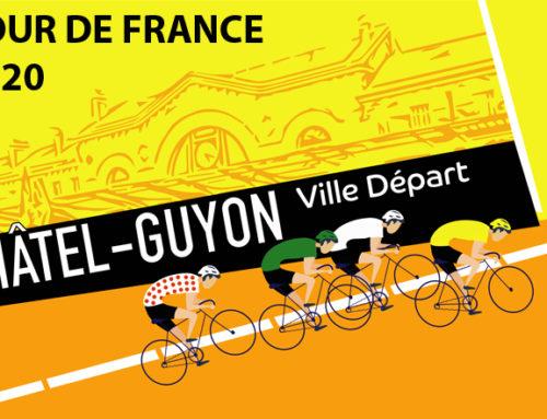 Châtel-Guyon, ville du TOUR DE FRANCE 2020 !