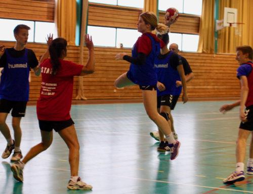 10h de hand et de badminton non-stop pour le téléthon 2019