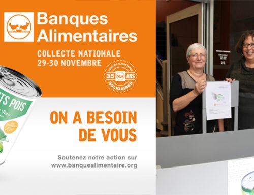 Deux jours de collecte organisés par le CCAS au profit de la Banque Alimentaire