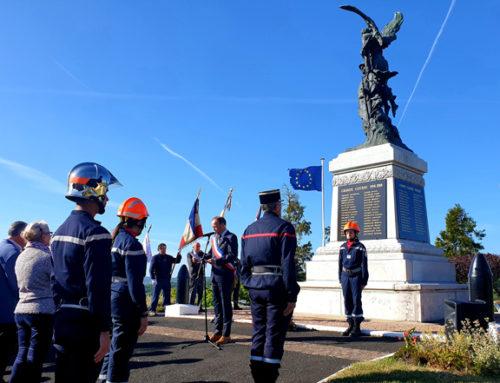 11 novembre 1918, une cérémonie pour la victoire et la paix à Châtel-Guyon