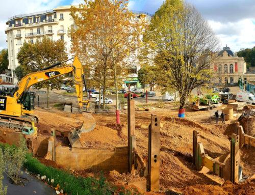La Place Brosson fermée à la circulation du 18/11 au 15/12