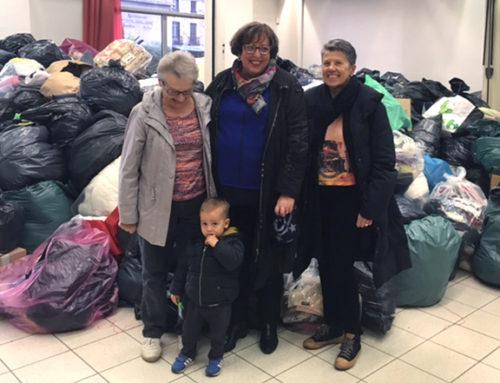 Record maintenu avec 9 tonnes de vêtements collectées par le CCAS !