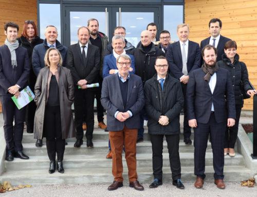 Le 1er bâtiment tertiaire à énergie positive d'Auvergne est à Châtel-Guyon