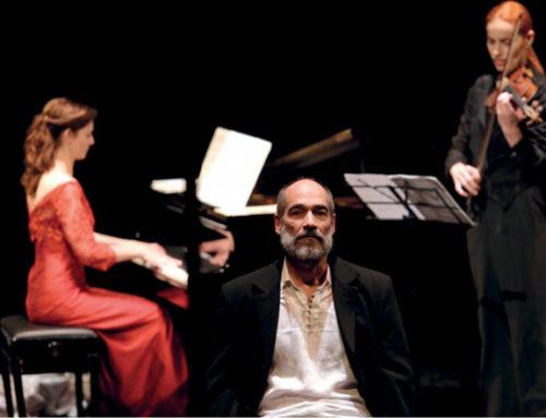 Jean-Marc Barr au Théâtre dans « La sonate à Kreutzer » le 30 janvier