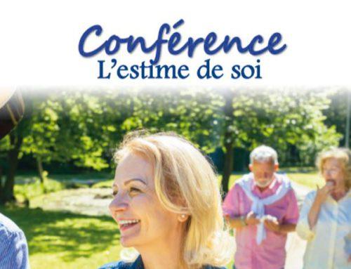 Jeudi 12 mars : une conférence-débat à destination des seniors sur le thème de l'estime de soi