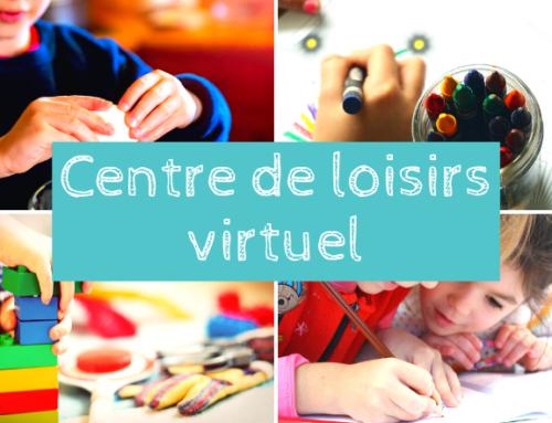 Vacances de printemps : un centre de loisirs virtuel !