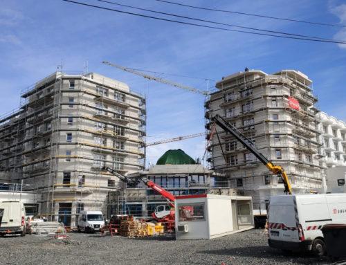 Confinement : les grands travaux reprennent en cœur de ville