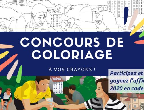 A vos crayons ! Concours de coloriage de l'affiche 2020 pendant le confinement
