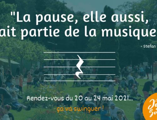 Jazz aux Sources : une pause s'impose… Rendez-vous avec le swing du 20 au 24 mai 2021