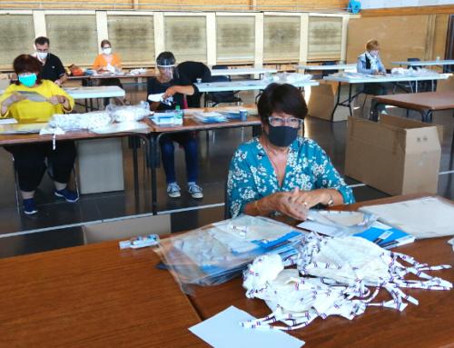 2ème phase de distribution des masques : appel à bénévoles pour la mise sous-pli