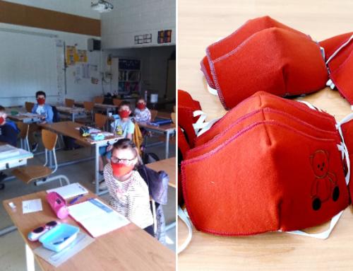 La ville offre un masque « enfant » à tous les élèves de Châtel-Guyon