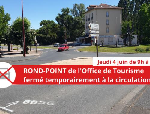 Travaux rond-point des Pays de Volvic : circulation perturbée à Châtel-Guyon jeudi 4 juin