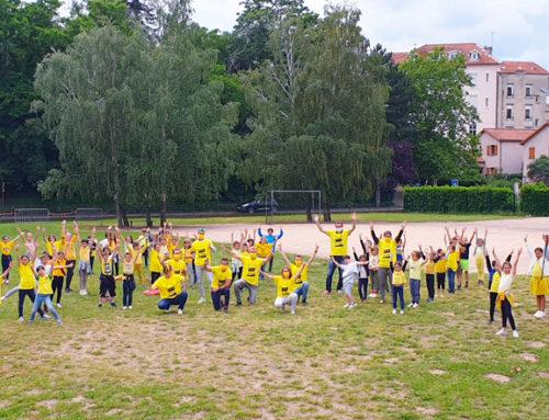 Une « Yellow Army » cycliste se prépare à Châtel-Guyon !