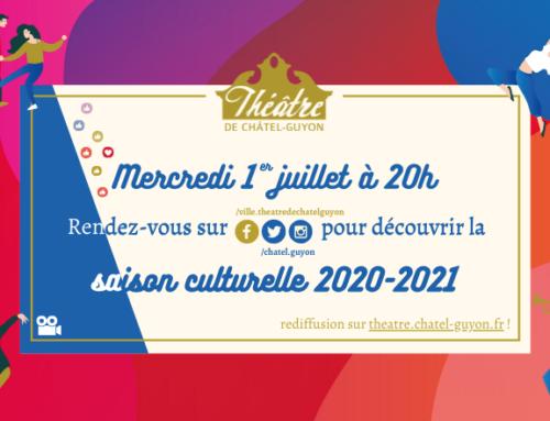 Saison culturelle 2020-2021 : un lancement inédit le 1er juillet !