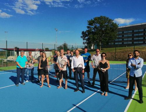 Le tennis club investit le nouveau Pôle Raquettes !