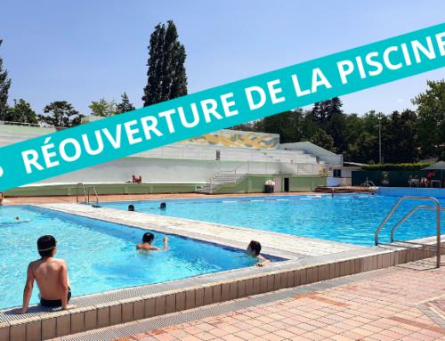 Réouverture de la piscine municipale le 17 juillet