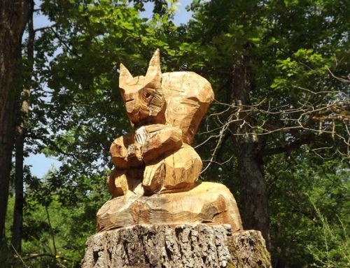 Jeudi 24 septembre : une balade à la découverte des sculptures sur bois