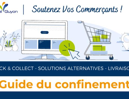 Soutenez vos commerces de proximité : consultez le guide pratique du confinement