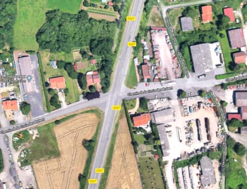 Sécurisation du carrefour de la Zone d'Activités