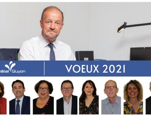 Cap sur l'année 2021 : vœux du Maire et des adjoints de la ville