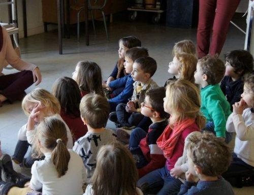 Le Théâtre accompagne la compagnie Lignes de Fuite Ensemble à l'école
