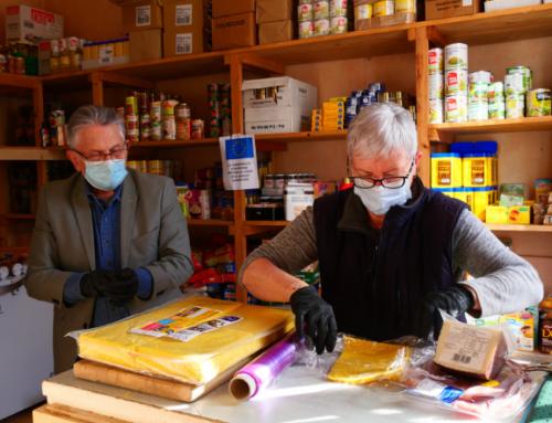 Crise sanitaire : une Banque alimentaire attentive à Châtel-Guyon !