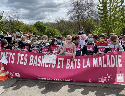 «Mets tes basket et lutte contre la maladie», les écoliers ont couru au profit de l'association ELA