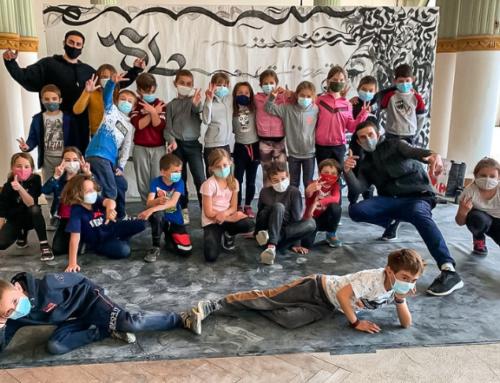 Les écoles de Châtel-Guyon à la découverte des cultures urbaines