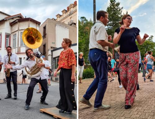 Les soirées « Swing en Terrasses » ont fait vibrer Châtel-Guyon !
