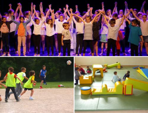 3 nouvelles sections d'activités proposées aux jeunes Châtelguyonnais : multisports, théâtre et «éveil tes sens»